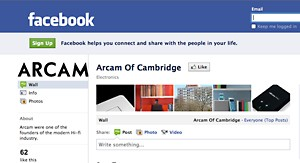 Win an rCube at the Arcam Facebook Page!