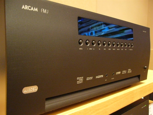 AVR750 arrives at Audio-T Enfield...