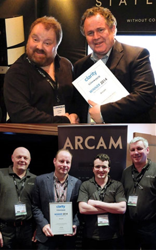 Arcam wins the Clarity Alliance 'Best Home Cinema Room' award at Sound & Vision - The Bristol Show