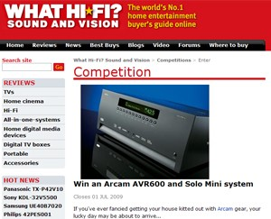 Win an AVR600 and Solo Mini/Muso system with Whathifi.com