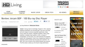 HD Living take an in-depth look at the BDP100
