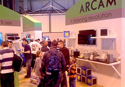 Arcam at the Gadget Show Live 2011