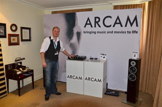 Arcam at the Sydney Hi-Fi Show