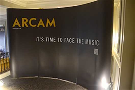 Arcam at CES - Day 1, A Quick Listen To The New A19 Amplifier
