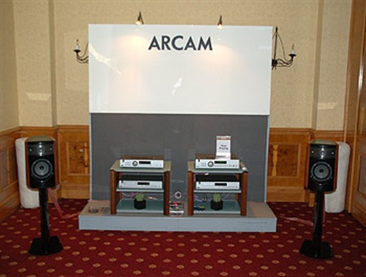 Arcam draws the crowds at the Bristol Show!