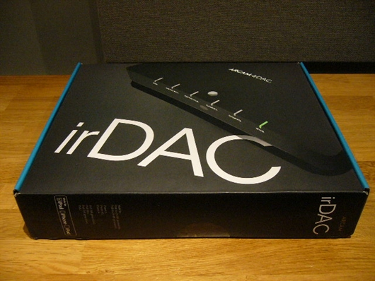 irDAC excitement at Audio-T Enfield