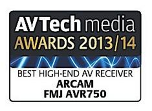 AVR750 wins Best High-End Receiver