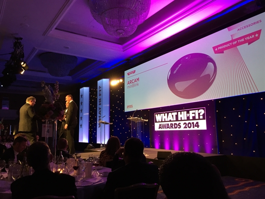 Arcam scoops three awards in the What HiFi 2014 awards!