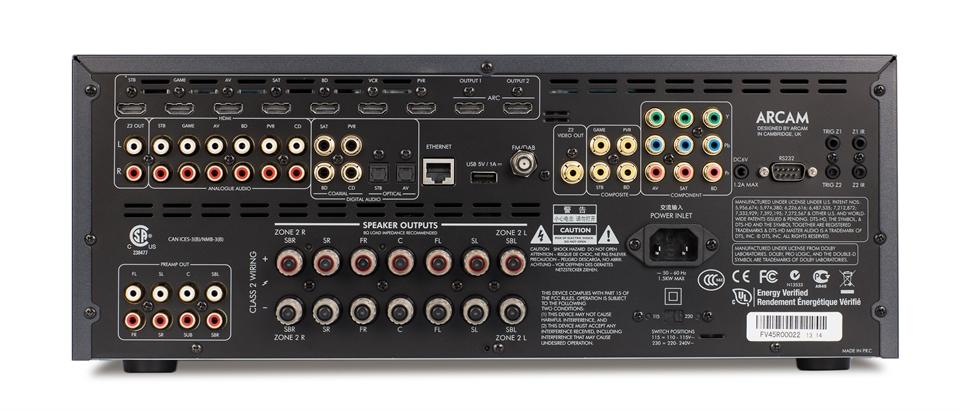 AVR450 - AV Receiver - Arcam