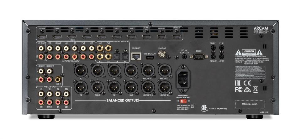 Lexicon Rv 6 Amp Rv 9 Avrs Mc 10 Pre Pro At Cedia 2017